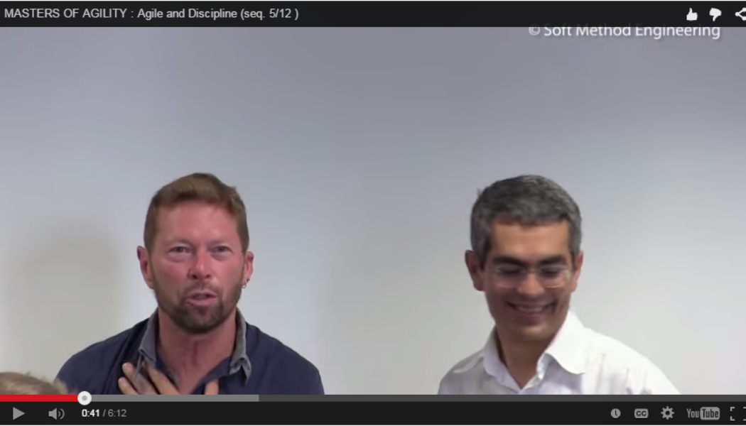 Vidéo «Masters of Agility with Alistair Cockburn» sequence 5: Agile and Discipline