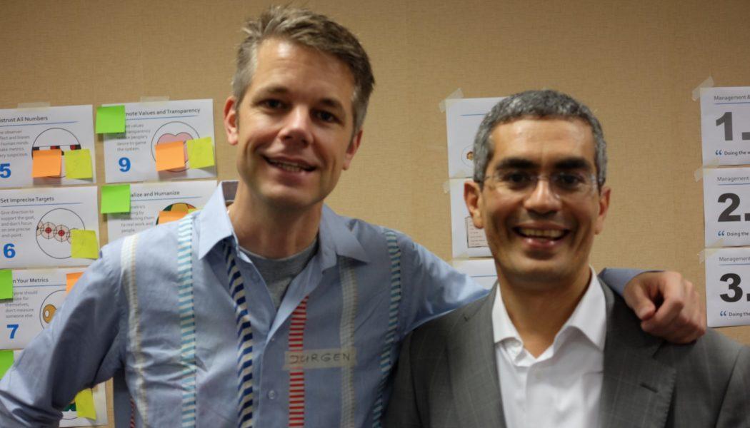 Présentation le 7 octobre 2016 «Managing for Happiness» avec Jurgen Appelo à Paris